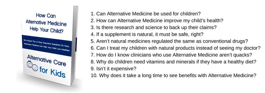 alternative medicine for kids ebook