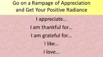 Rampage of Appreciation
